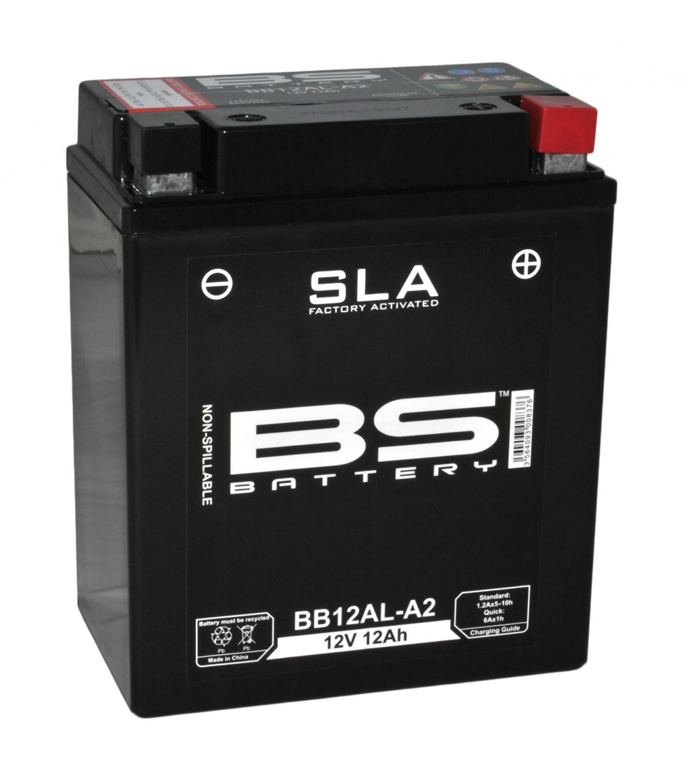 Batería de Moto BB12AL-A2 BS Baterias
