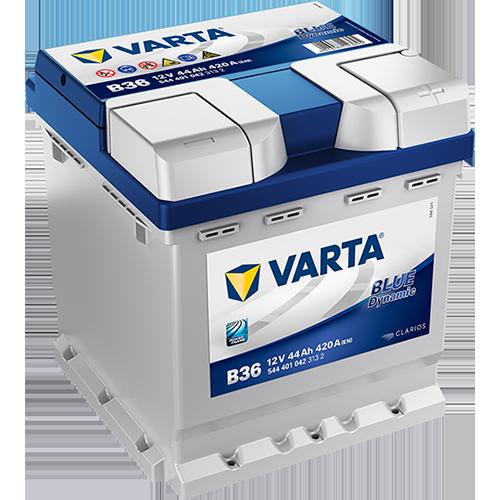 Batería de Coche VARTA B36 44Ah