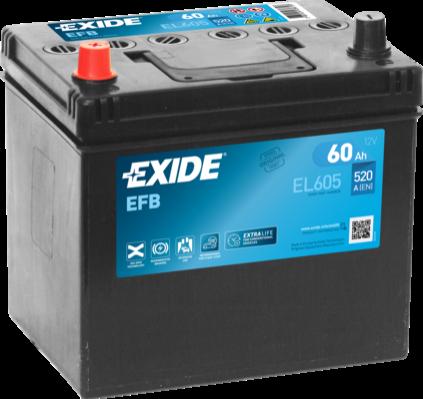 Batería de Coche EXIDE EFB EL605 60Ah