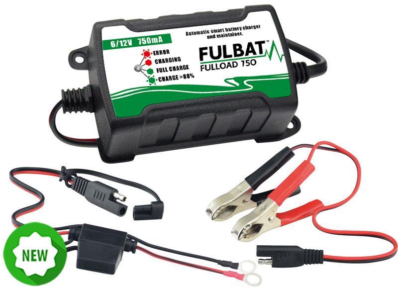 Cargador de Batería Moto Fulbat F750