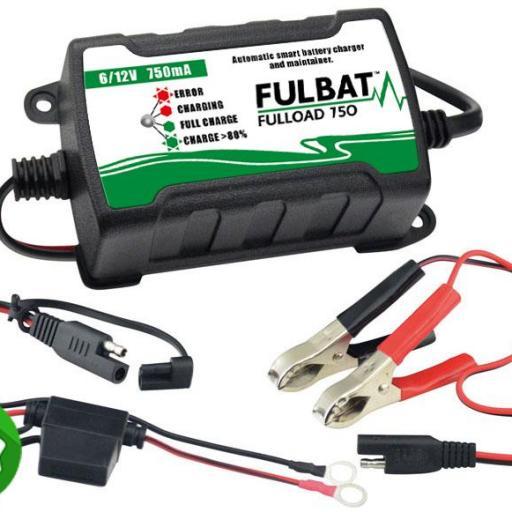 Cargador de Batería Moto Fulbat F750 [0]