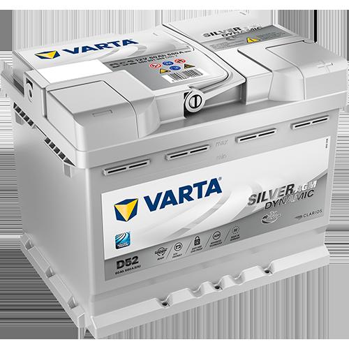 Batería de Coche VARTA D52 AGM 60Ah