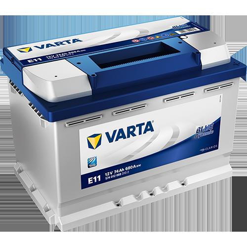 Batería de Coche VARTA E11 74Ah