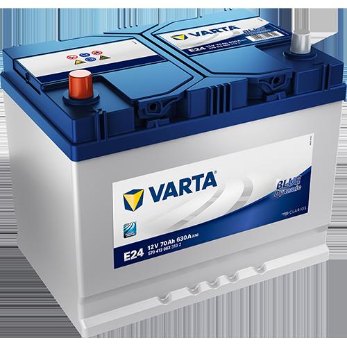 Batería de Coche VARTA E24 70Ah