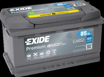 Batería de Coche EXIDE EA852 85Ah