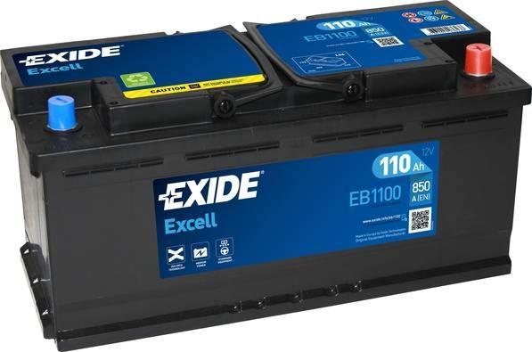 Batería de Coche EXIDE TB1100 110Ah