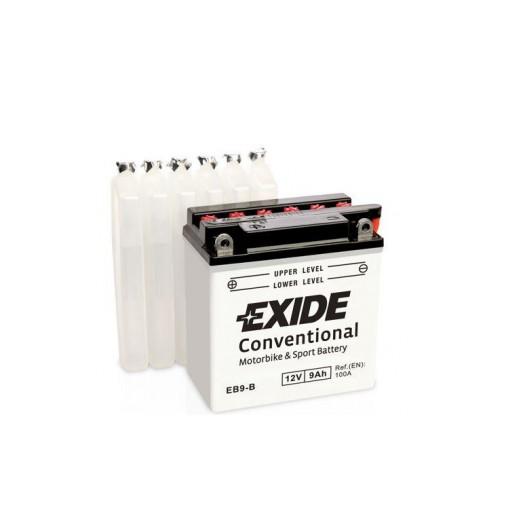 Batería de Moto EXIDE EB9-B (YB9-B)