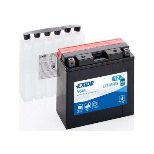 Batería de Moto EXIDE ET14B-BS (YT14B-BS) [0]