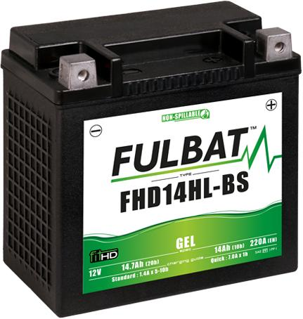 Batería para Harley FHD14HL-BS GEL FULBAT