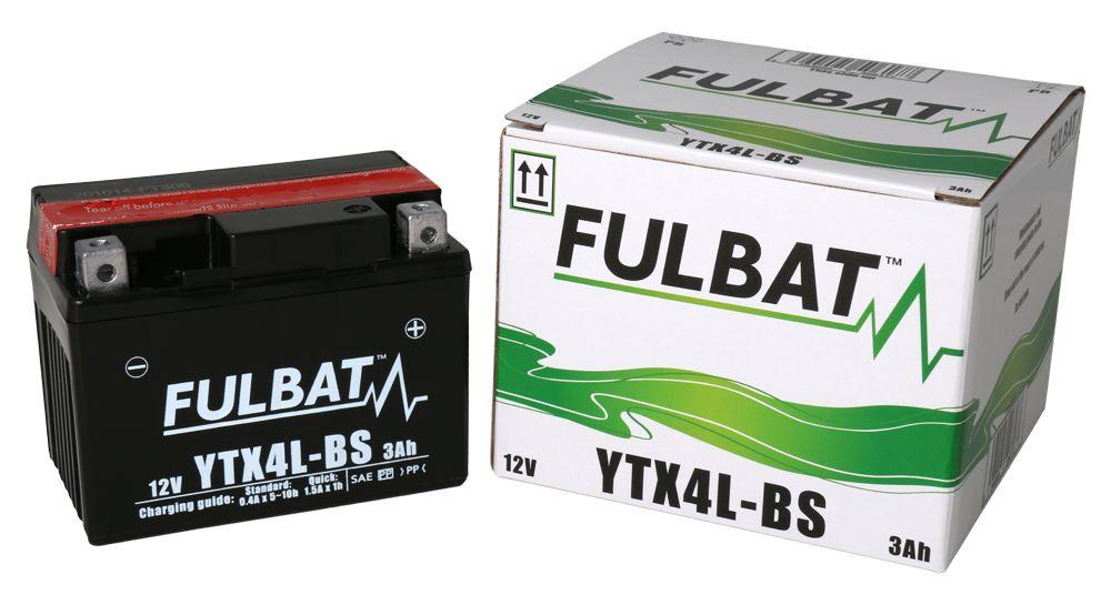 Batería de Moto FTX4L-BS FULBAT