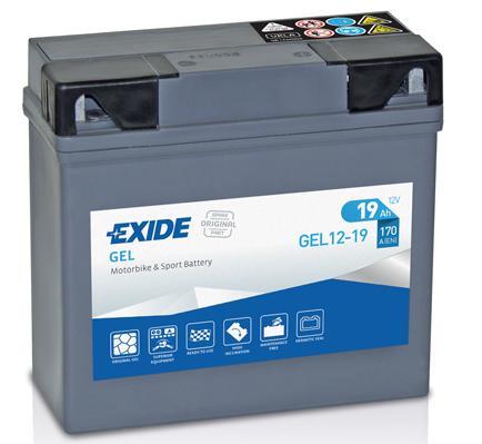 Batería de Moto EXIDE GEL12-19
