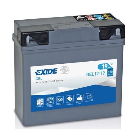 Batería de Moto EXIDE GEL12-19 [0]