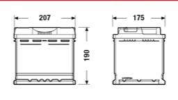 Batería de Coche TUDOR TB500 50Ah [1]