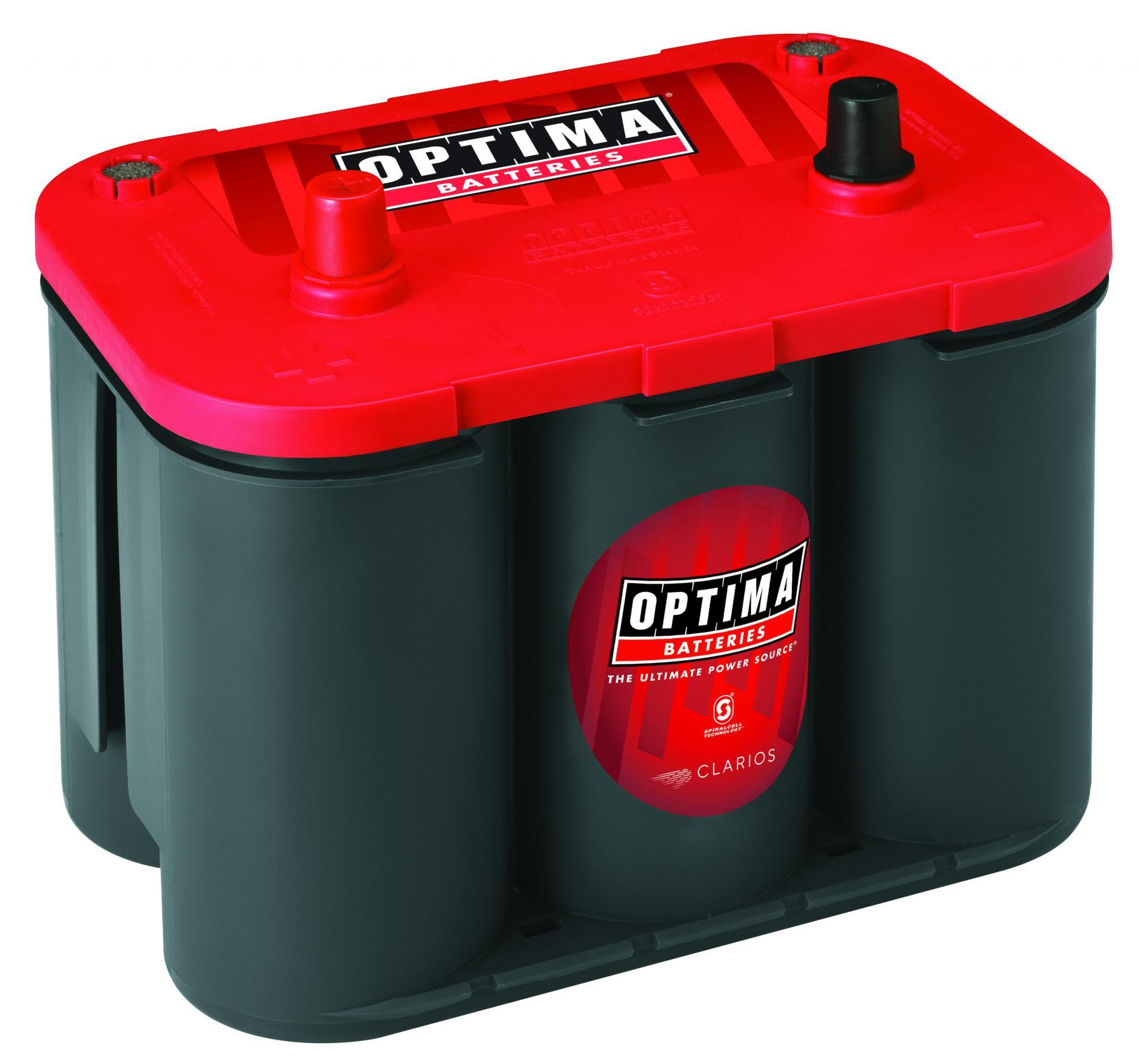 Batería Optima RTC 4.2 Red Top 50ah 815A