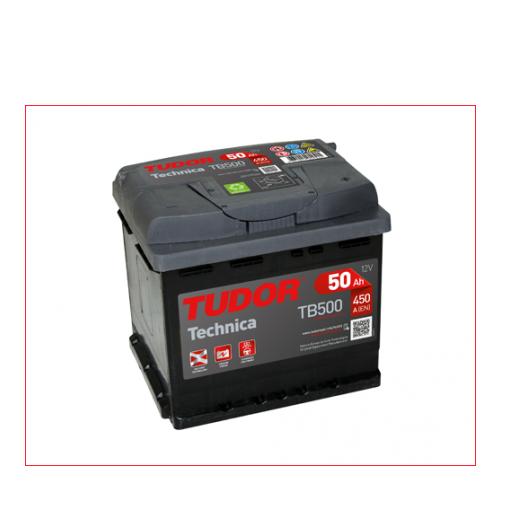 Batería de Coche TUDOR TB500 50Ah [0]