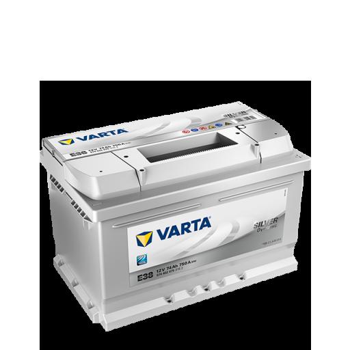 Batería de Coche VARTA E38 74Ah