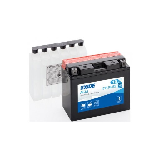Batería de Moto EXIDE ET12B-BS (YT12B-BS)