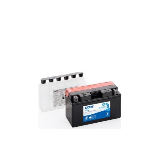 Batería de Moto EXIDE ET7B-BS (YT7B-BS)