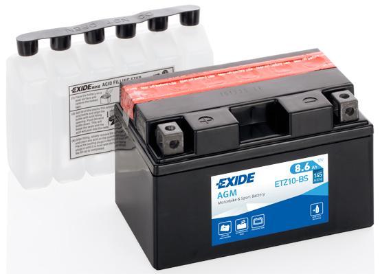 Batería de Moto EXIDE ETZ10-BS (YTZ10S)
