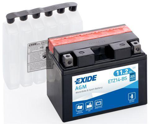 Batería de Moto EXIDE ETZ14S (YTZ14S)