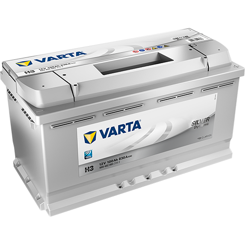 Batería de Coche VARTA H3 100Ah
