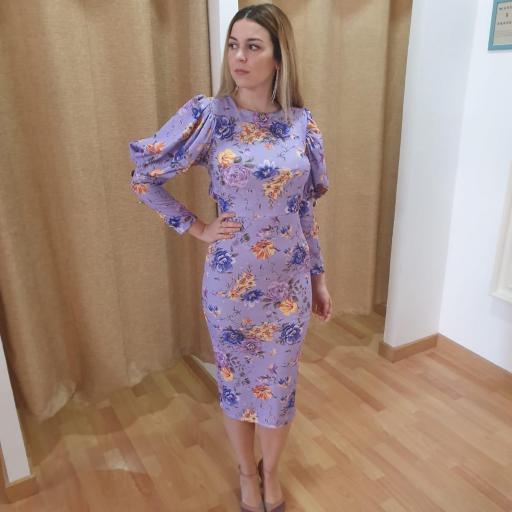 Vestido Aviñon Flores [1]