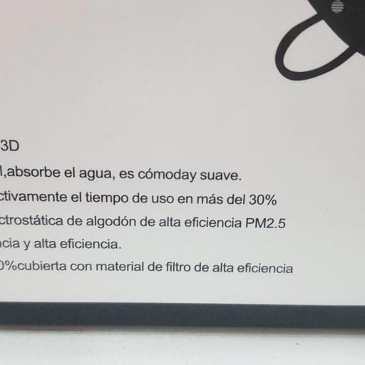 Mascarilla FFP2  Negro, Caja 10 unidades, Adulto  [1]