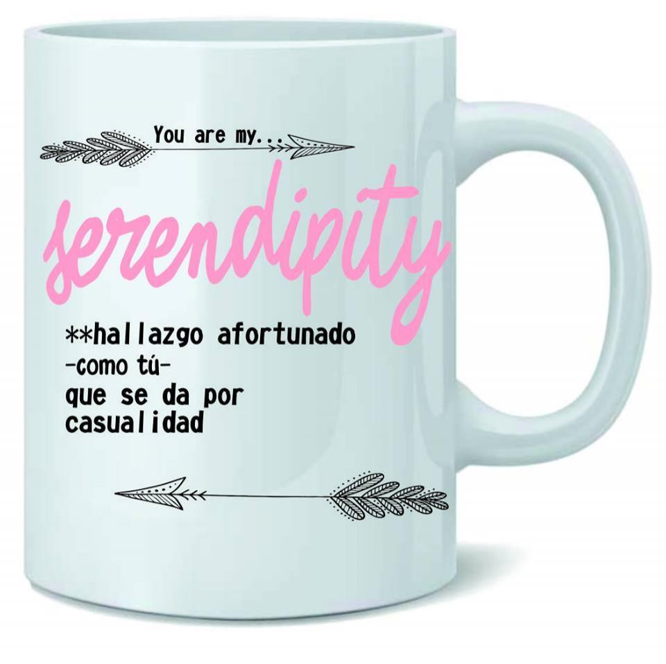 Taza SERENDIPITY