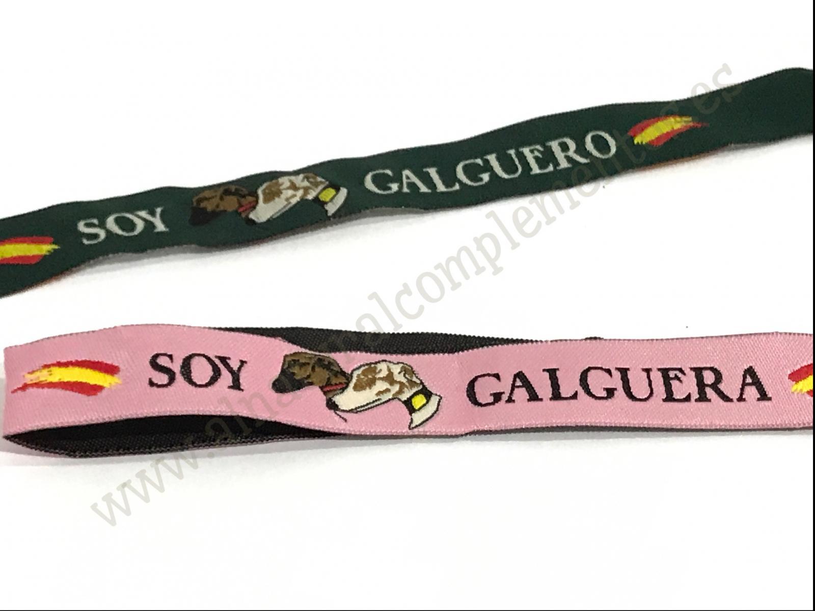 Pulsera de Tela Soy Galguero