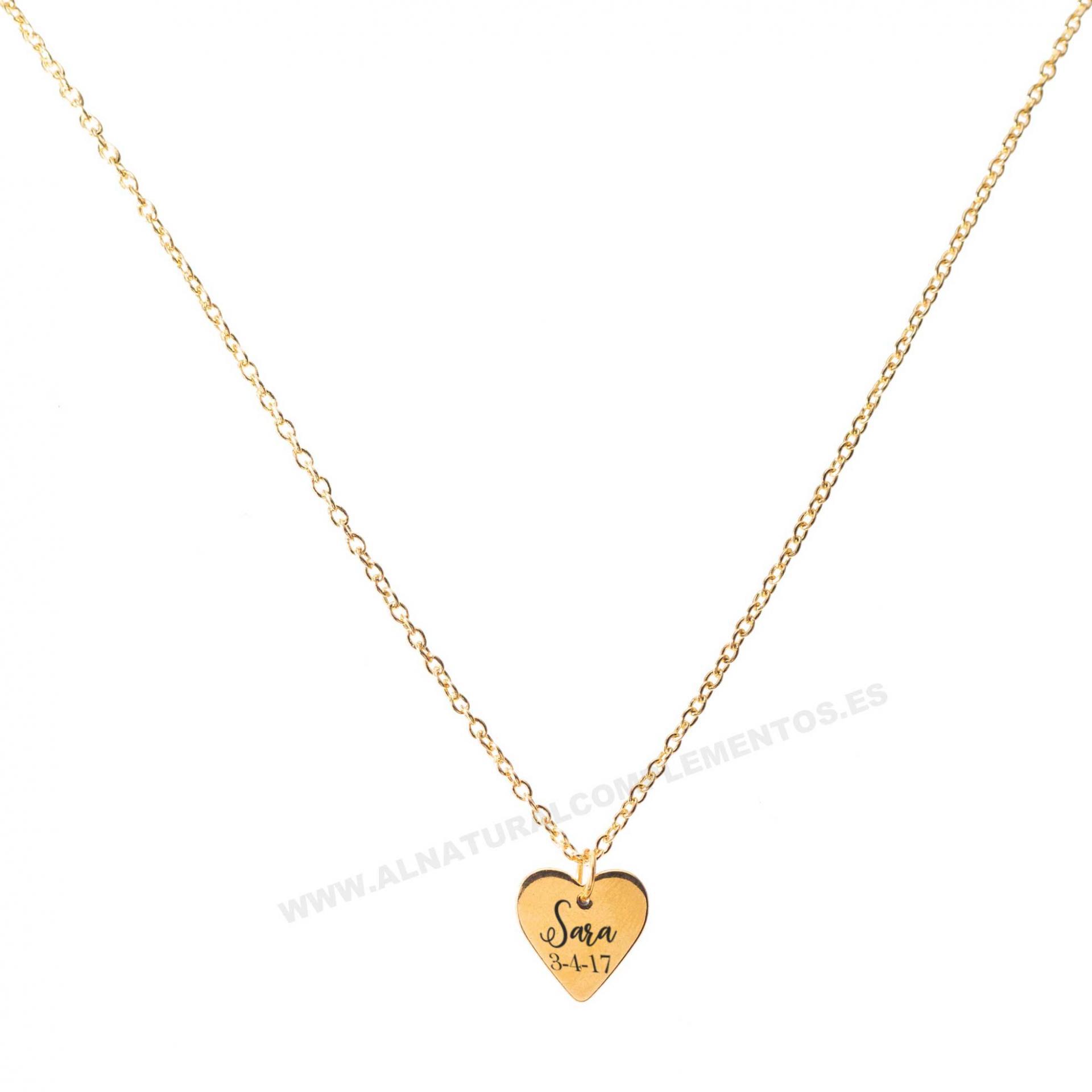Colgante Personalizado Corazón