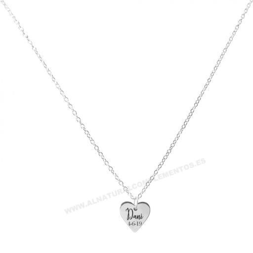 Colgante Personalizado Corazón [1]