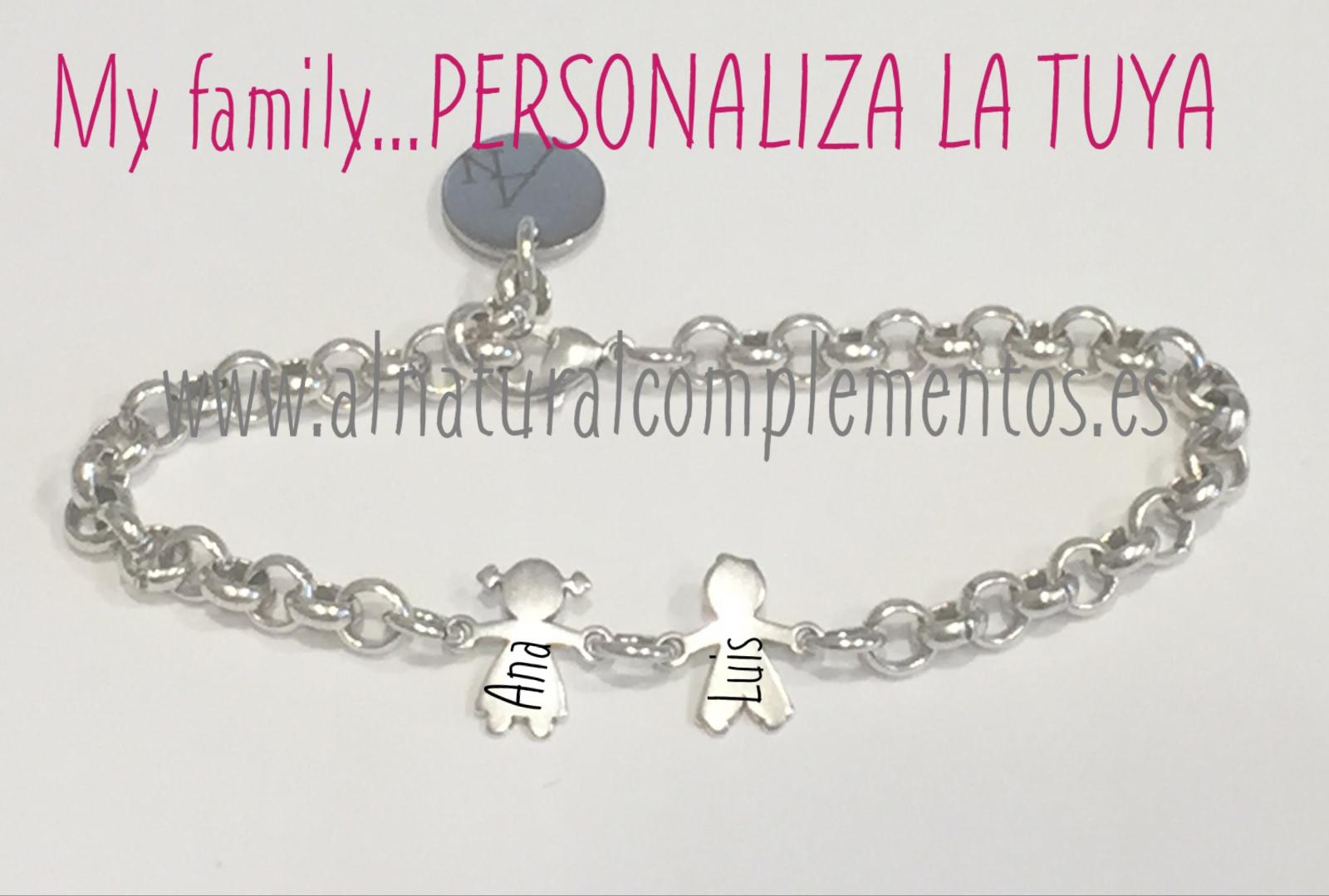 Pulsera My family