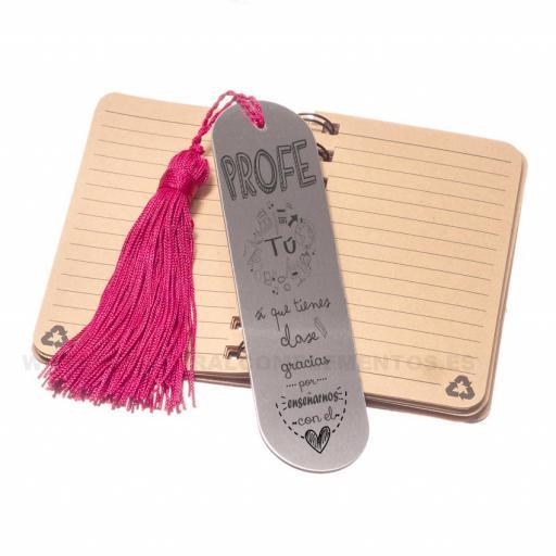 Pack Regalo Fin de curso: Marcapáginas y cuaderno [2]