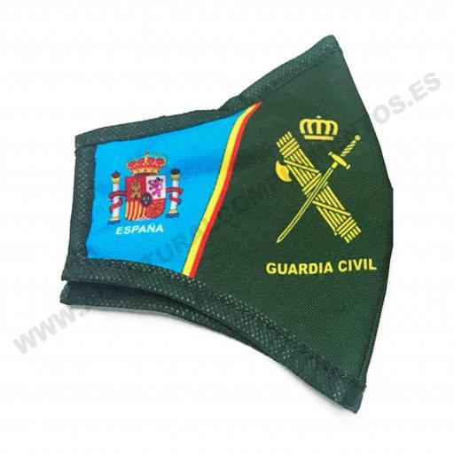 Mascarilla Guardia Civil