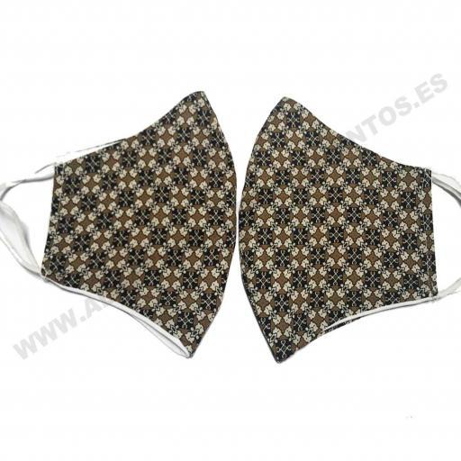Mascarilla Estampado Corbata [1]