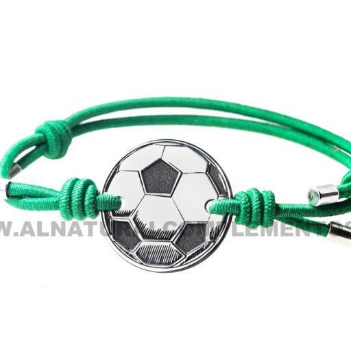 Pulsera de Plata Fútbol