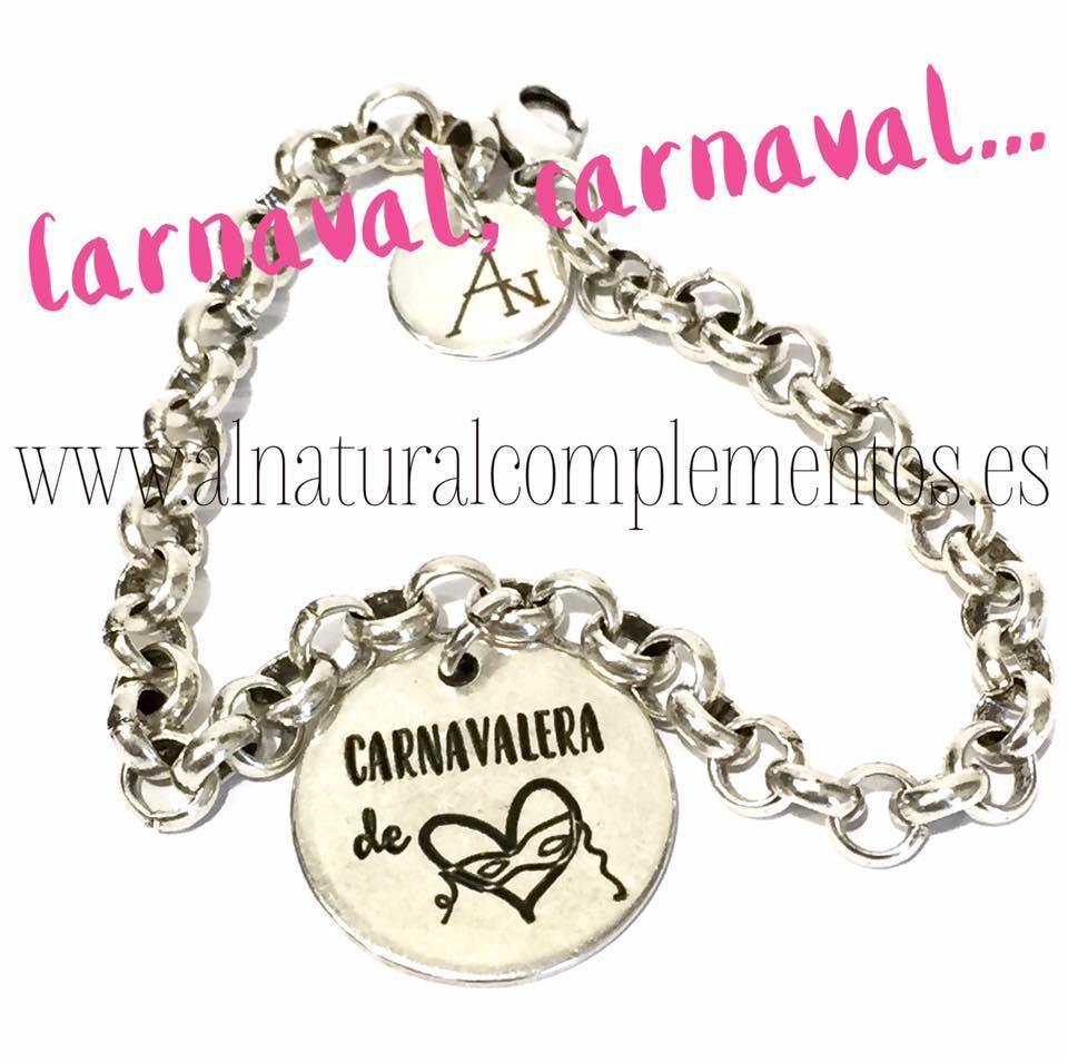 Pulsera Carnavalera de Corazón