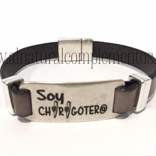 Pulsera Soy Chirigoter@
