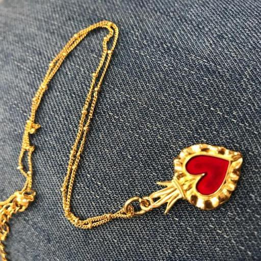 Colgante Corazón Mexicano [1]