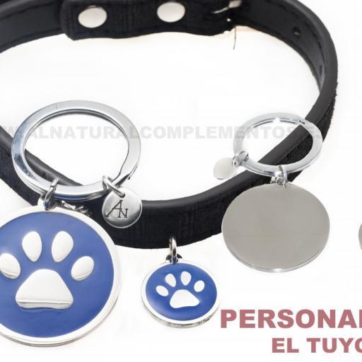 Pack Mascotas: llavero personalizado más placa personalizada mascota [3]