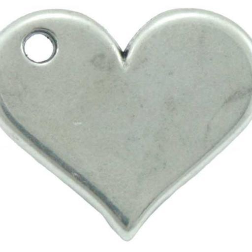 Colgante corazón para personalizar pulsera