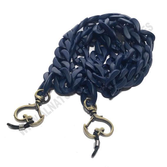 Cuelgamascarillas Navy Blue