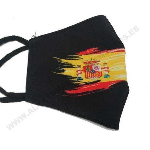 Mascarilla España Escudo