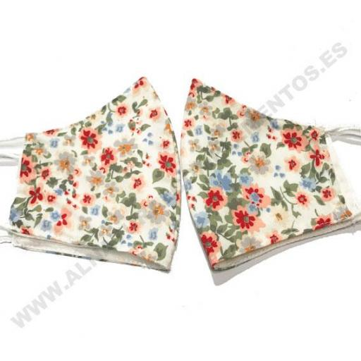 Mascarilla flores Liberty [1]
