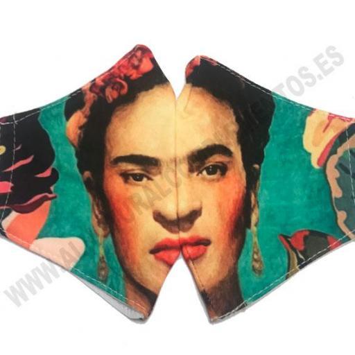 Mascarilla Frida Kahlo  [1]