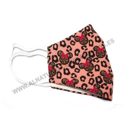 Mascarilla Leopardo rosa [1]