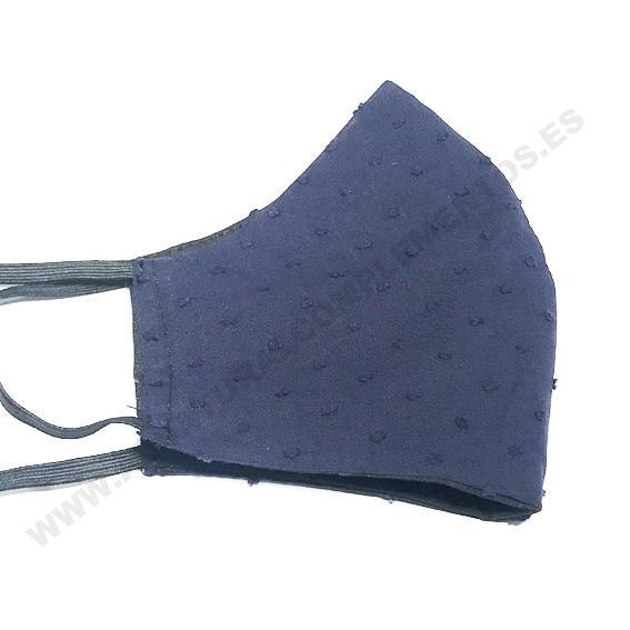 Mascarilla plumetti Azul marino