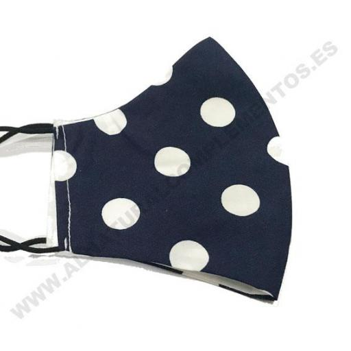 Mascarilla Topos Navy Blue