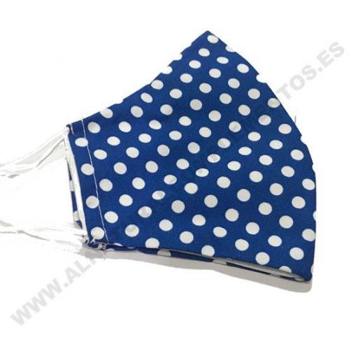 Mascarilla Topos Azul Klein