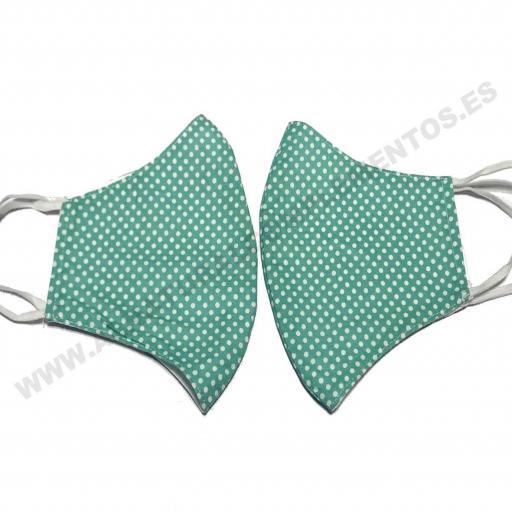 Mascarilla Topos Verde [1]
